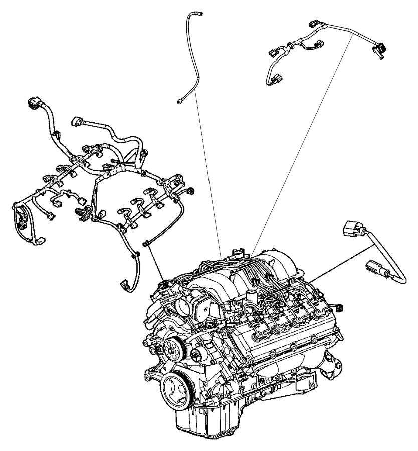 56045793ac Mopar Wiring Jumper Multiple Displacement