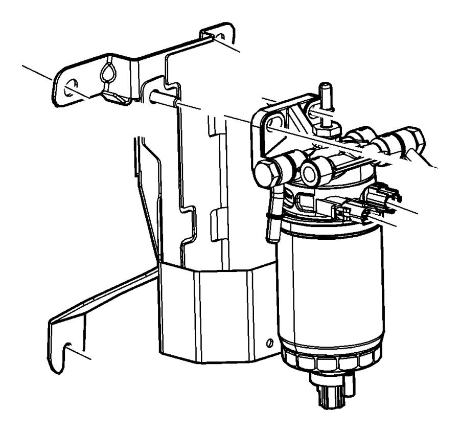 68051123aa  water separator