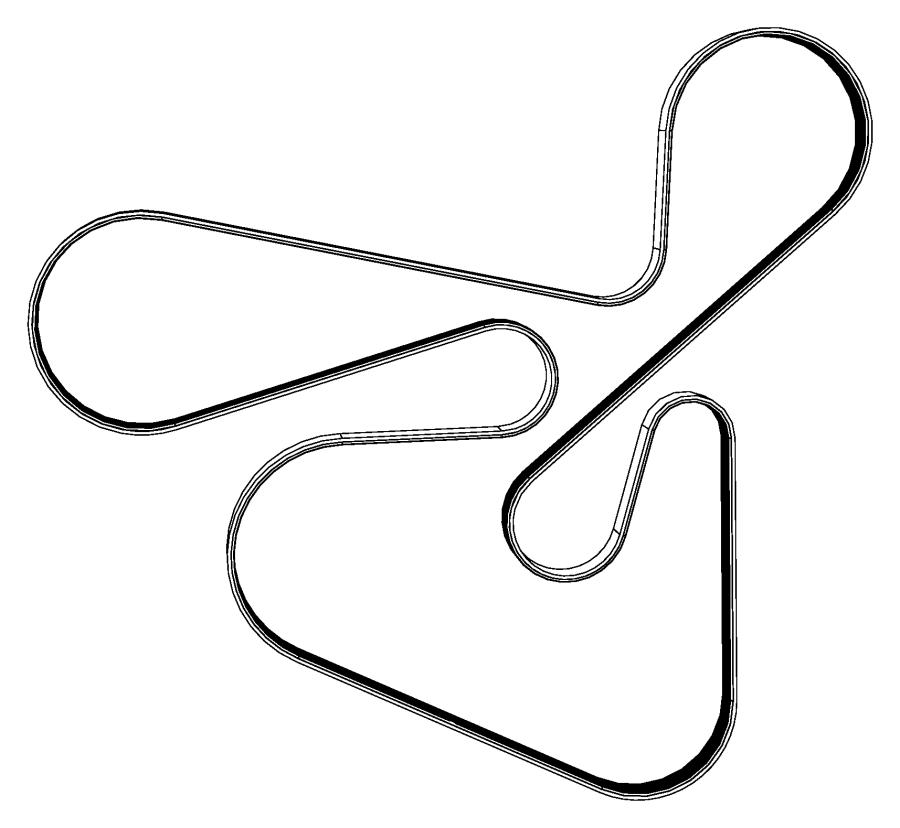 dodge caliber belt  accessory drive  serpentine  vbelts
