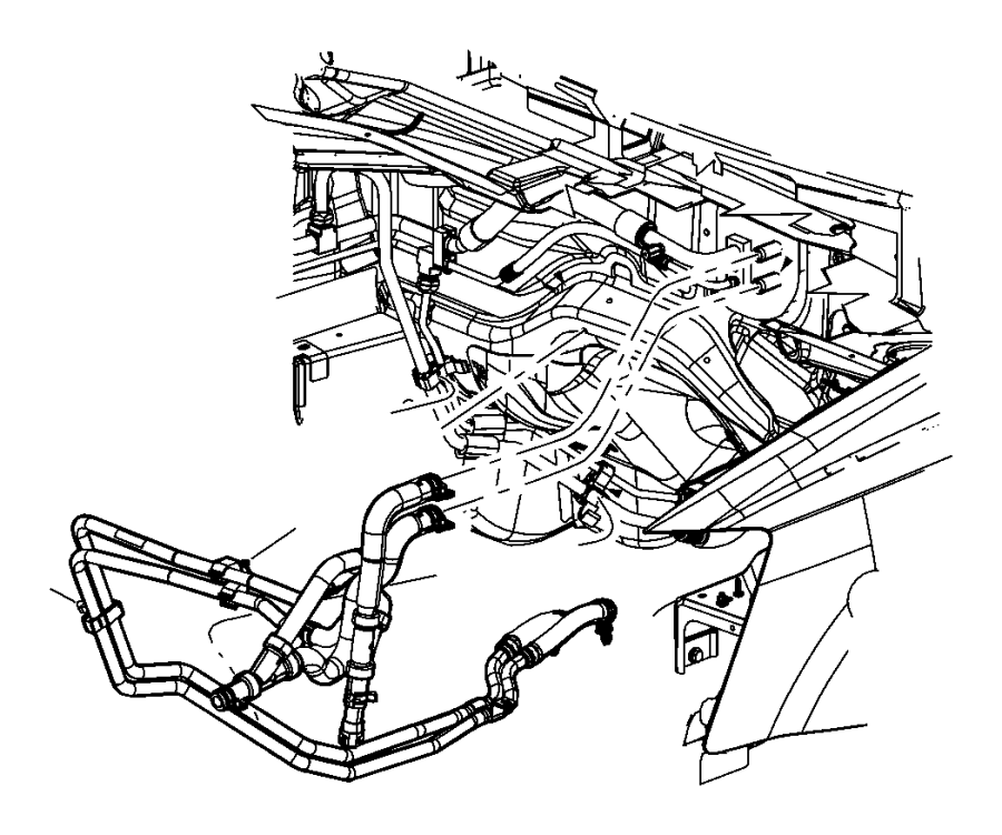 Chrysler Town  U0026 Country Used For  Hose And Tube  Used For