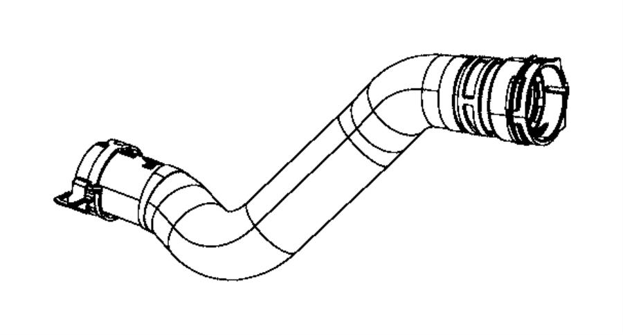 2014 jeep grand cherokee clamp  hose  radiator  46x15