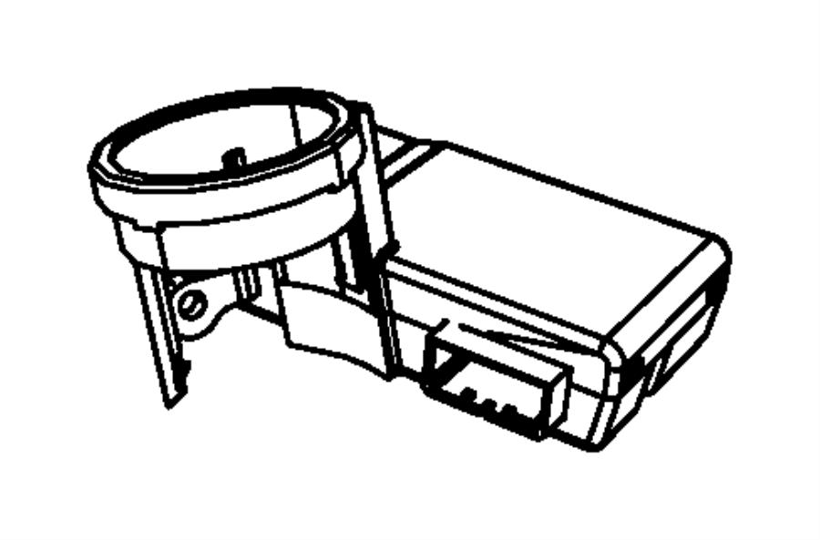2011 Dodge Nitro Receiver  Export  Control Module
