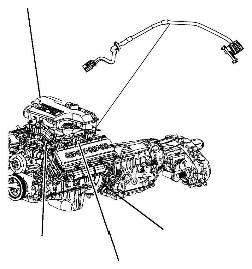 2012 Dodge Ram 1500 Wiring  Jumper  Variable Timing Solenoid