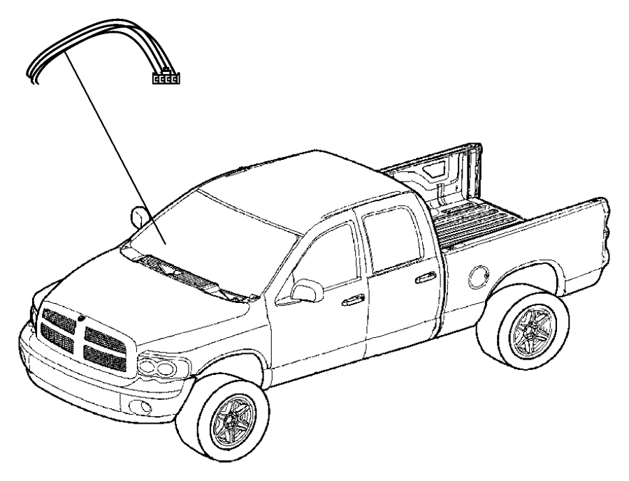 dodge ram 1500 wiring  trailer tow  pigtail  ahc  xfk