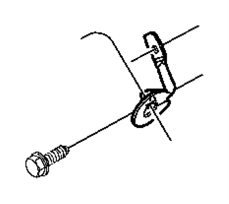 Dodge Dakota Bracket Shift Cable Transmissionmultispeed