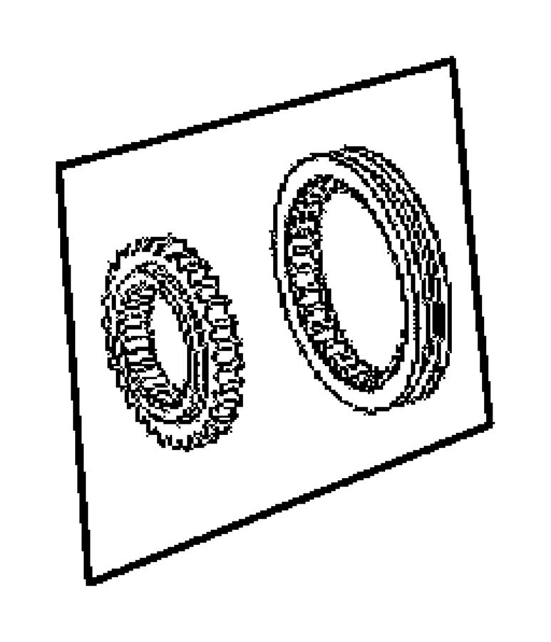05142834ab Mopar Synchronizer Reverse Body 94