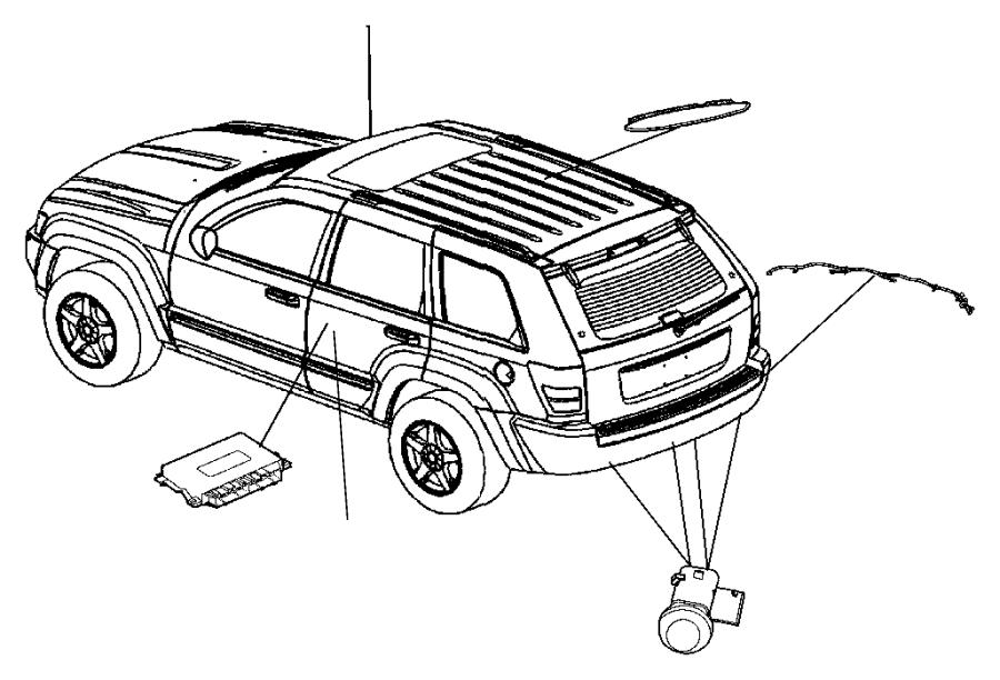 Jeep Commander Module  Parking Assist
