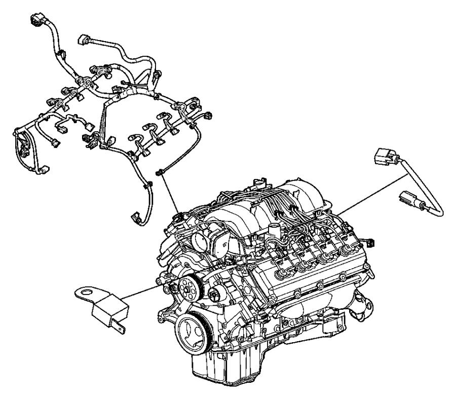 05148163ad Chrysler Wiring Jumper Multiple