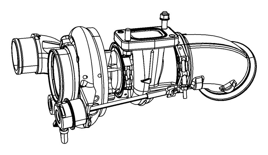 R5143256aa Mopar Turbocharger Xck Lineshoses