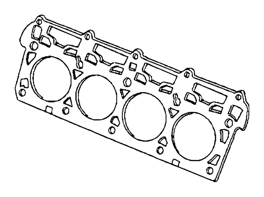 2017 chrysler gasket  cylinder head  left  left side