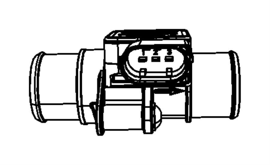 dodge journey sensor  mass airflow