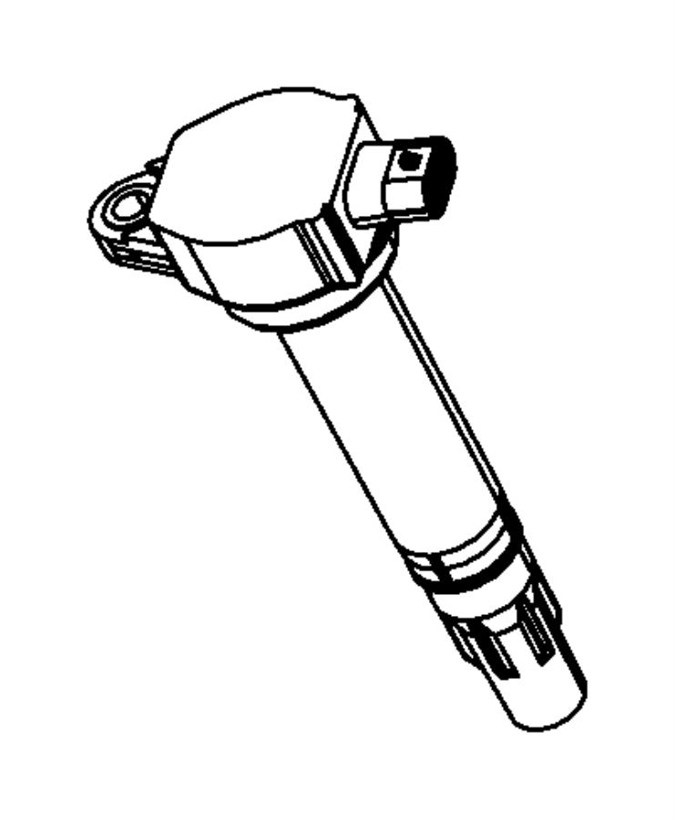 2007 Chrysler Sebring Coil Ignition Plugscablescoil