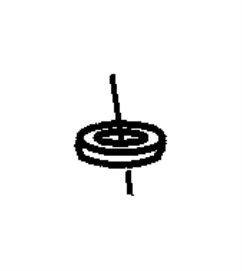 dodge ram 1500 cap nut  nut  antenna  antenna base  m6x1