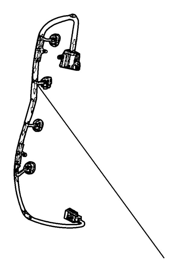 2008 Chrysler Pt Cruiser Wiring  Injector