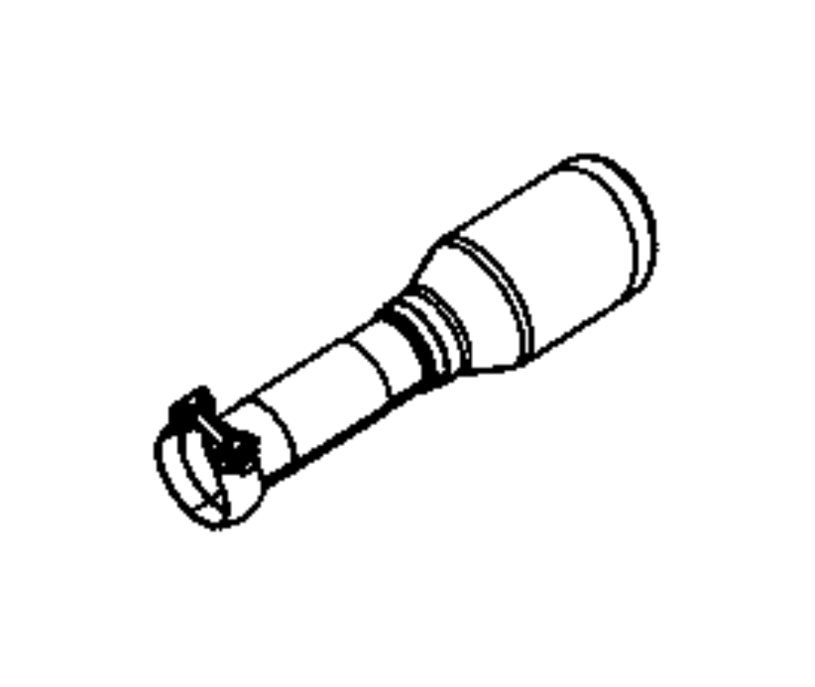 68230233ab Mopar Exhaust Tip Tailpipe Warren Tipsdual