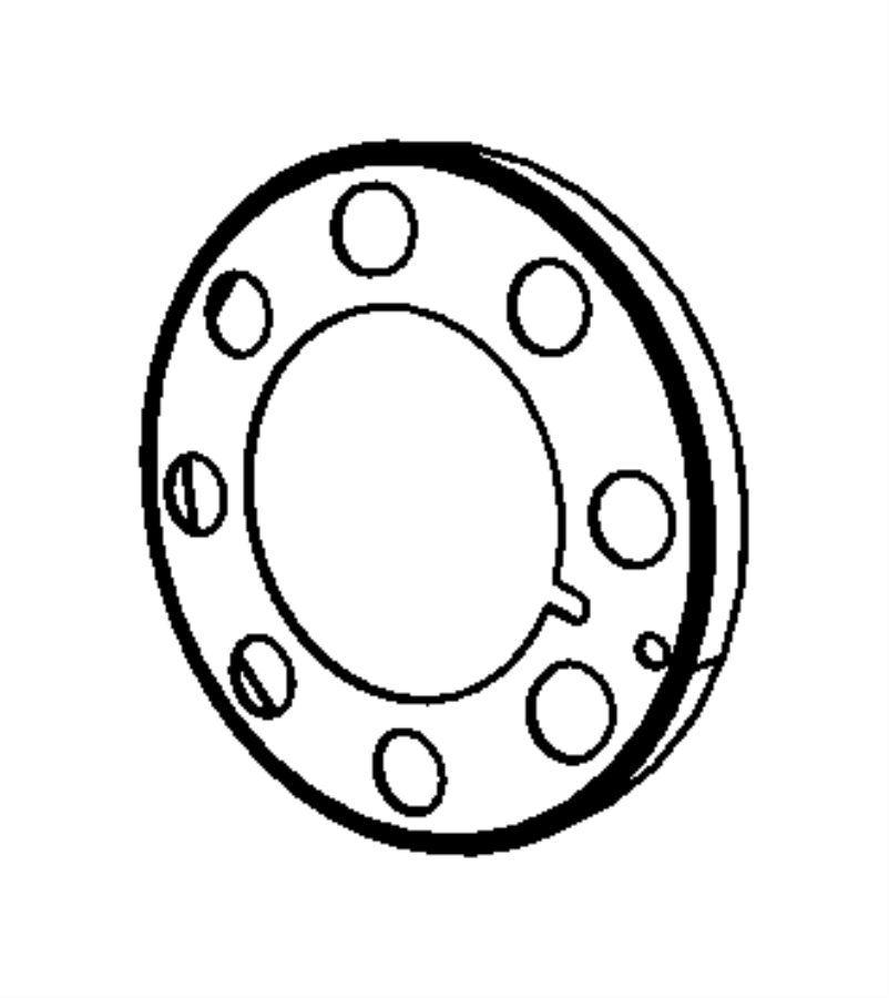 68027485aa Mopar Reluctor Wheel Crankshaft Not For
