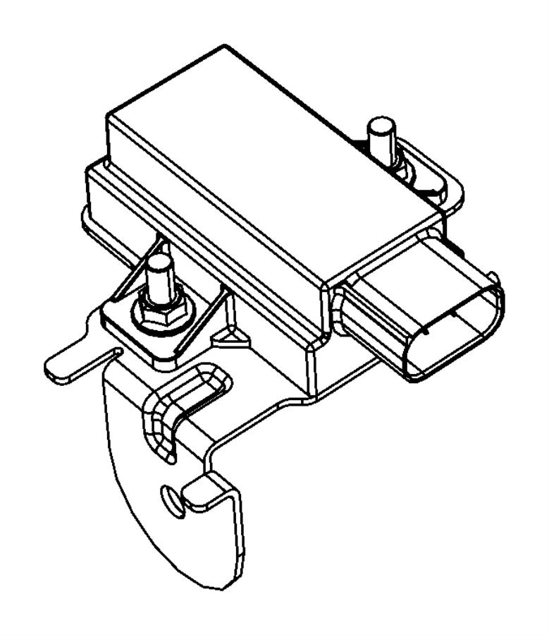 dodge nitro module  trigger  tire pressure  tire pressure monitoring  front left  left