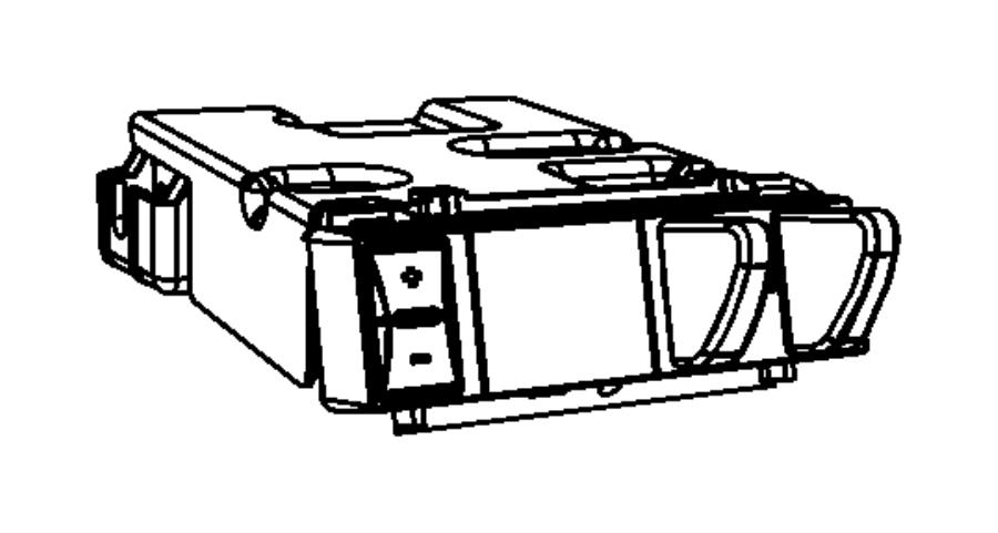 2012 dodge ram 1500 module  trailer tow