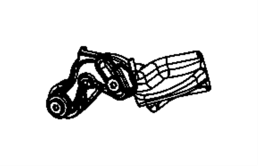 Dodge Ram 1500 Lever Tilt Column Release Trim No