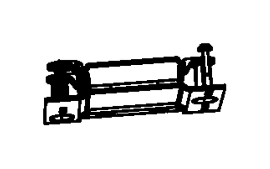 dodge ram 1500 module  parking assist  trim    o0