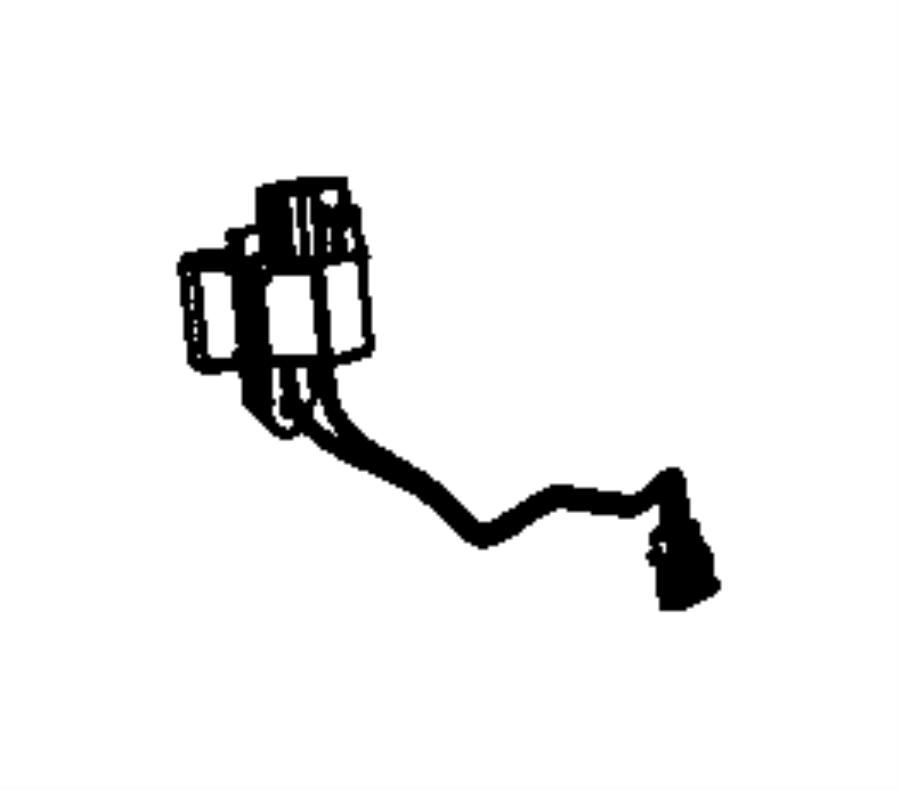 dodge journey resistor  radiator fan  connects