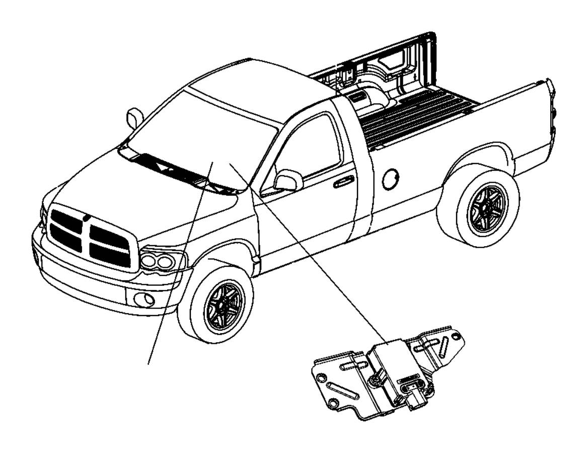 dodge ram 2500 sensor  dynamics  used for  lateral