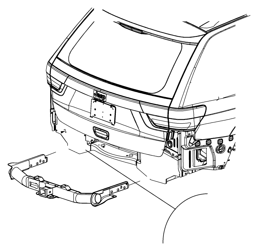2017 dodge durango hitch  trailer   class iv receiver