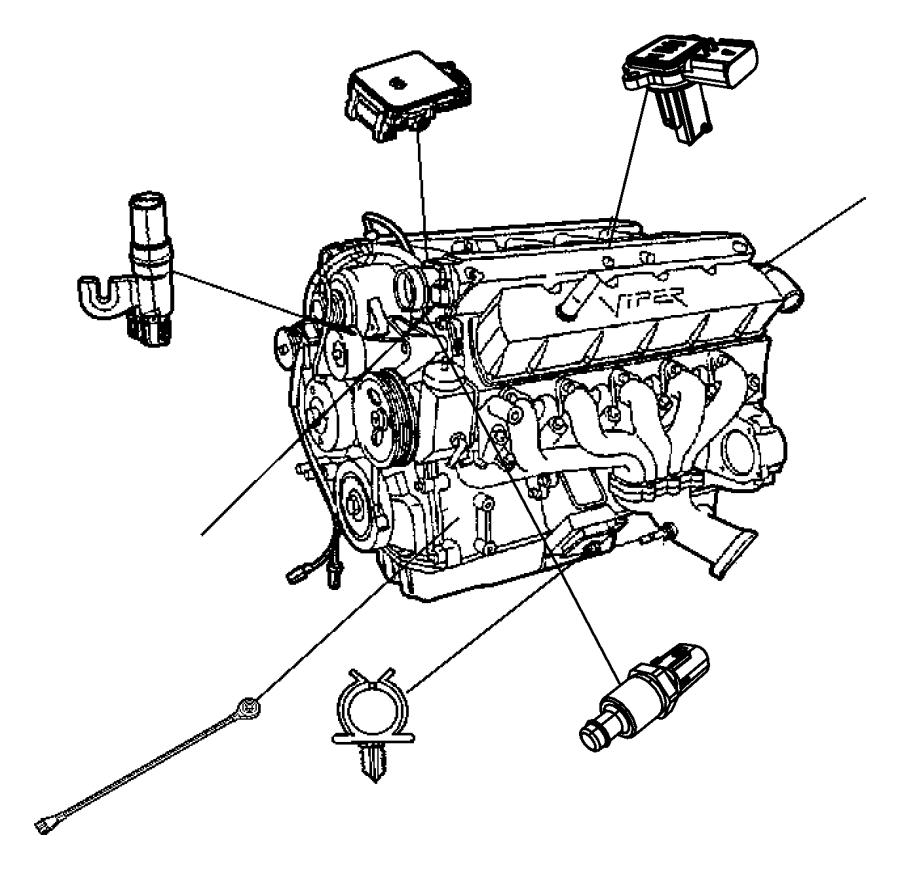 Dodge Ram 2500 Sensor  Knock
