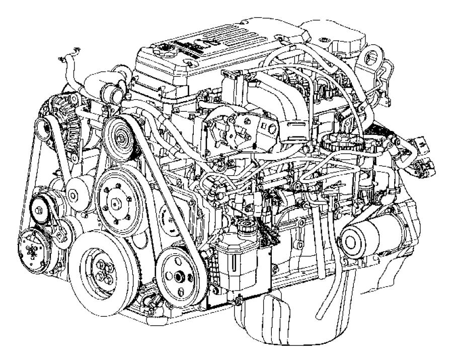 2012 dodge ram 3500 engine  complete  remanufactured  cpl