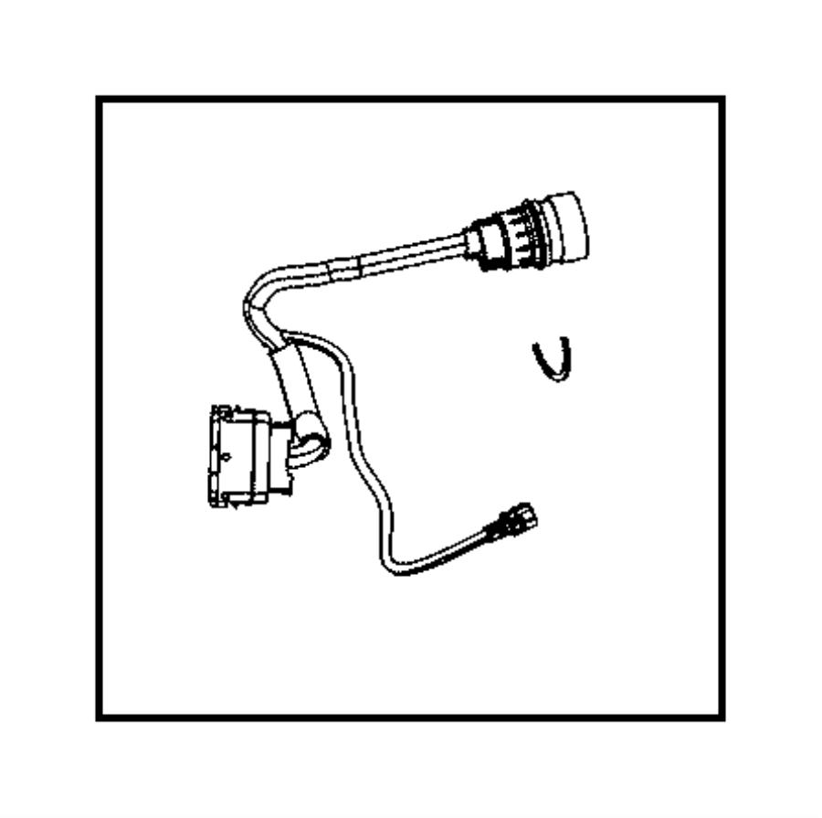 2008 dodge caliber harness  wiring