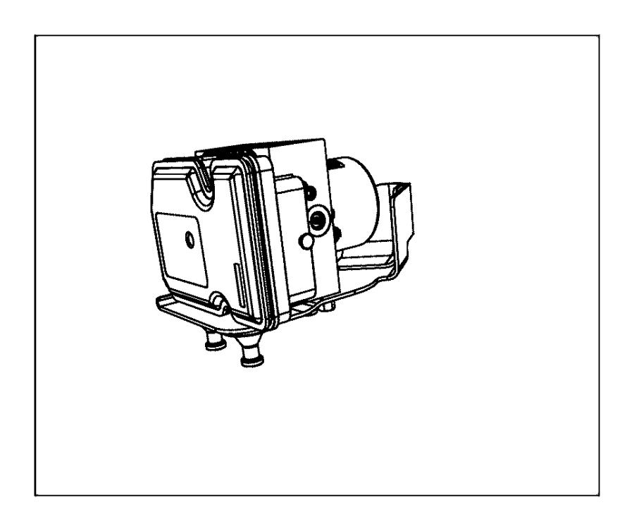 68085397ab Mopar Control Unit Anti Lock Brake