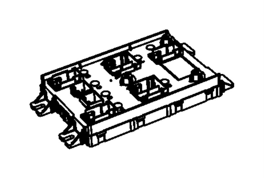 2014 chrysler module  body controller  export   police