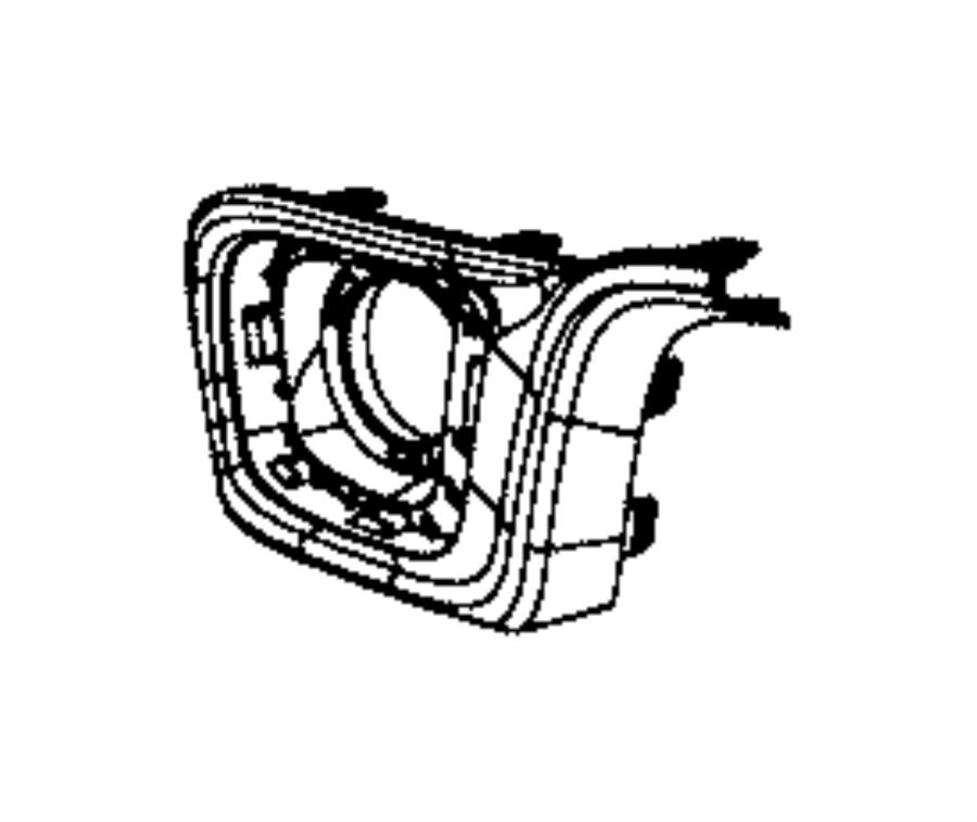 2015 dodge durango applique  fascia  left  moduleplatinum