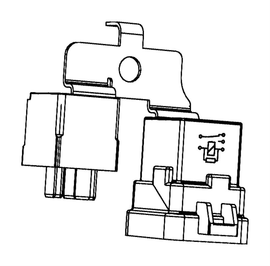 jeep wrangler relay  radiator fan  groupheavy