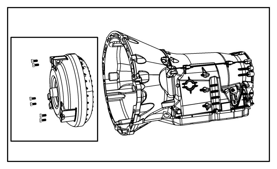 2012 jeep wrangler transmission kit  with torque converter