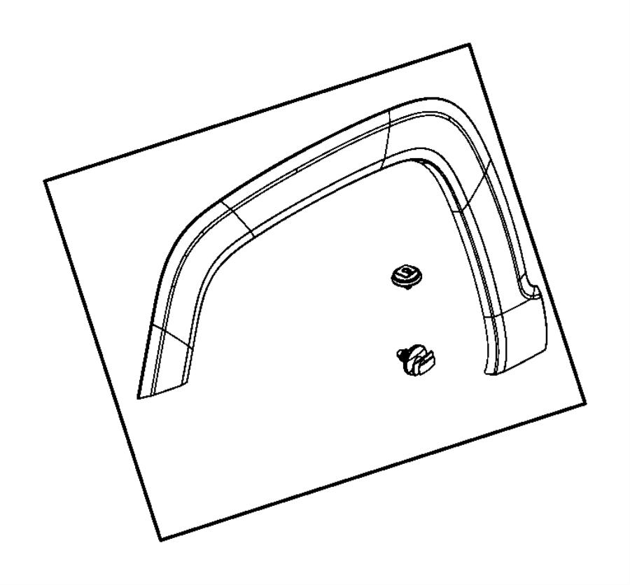 2017 jeep renegade clip  retaining  trim   no description available  color   -o0