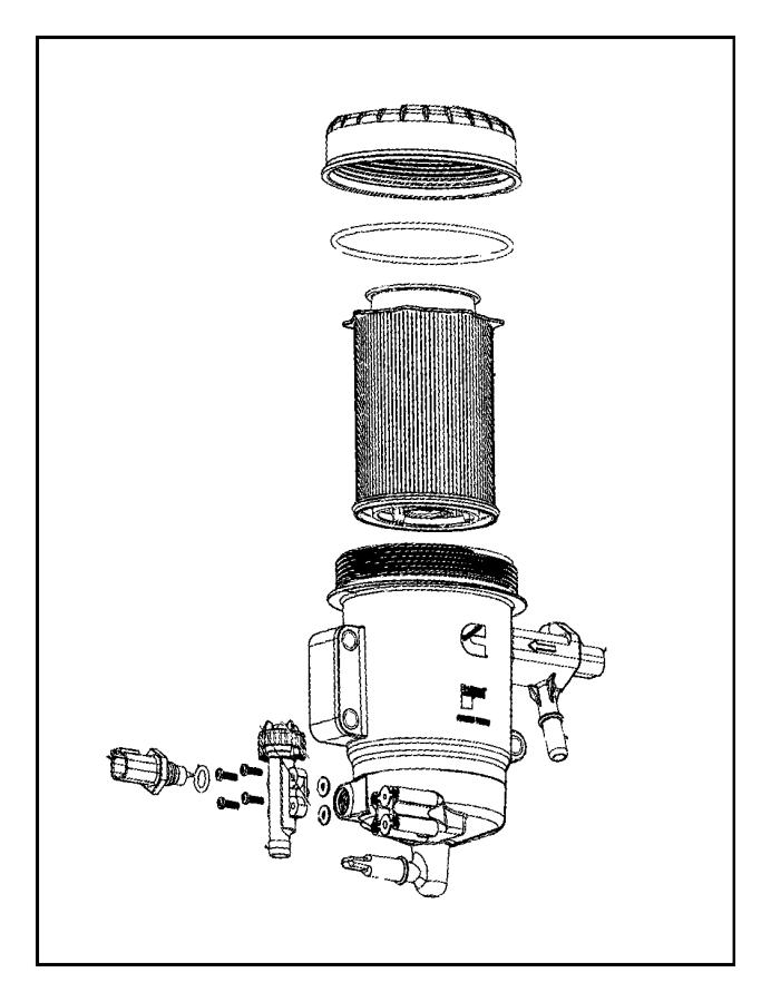 dodge ram 2500 valve  water separator drain