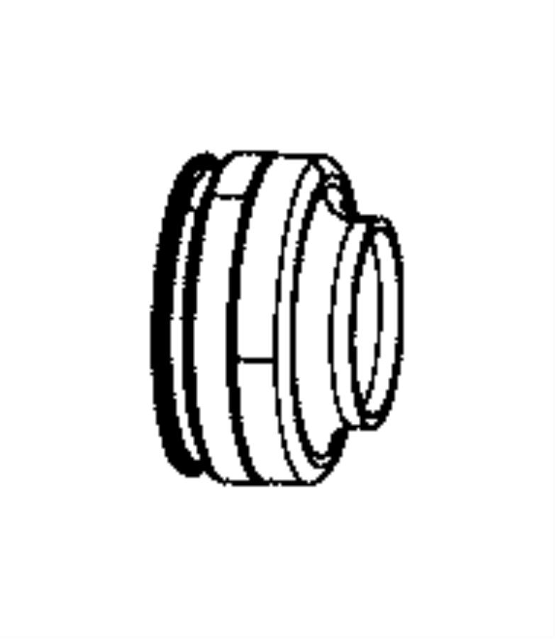 Toyota Collar Partnumber 9038921003: MOPAR Collar. Axle Shaft Seal. [4.10 Axle