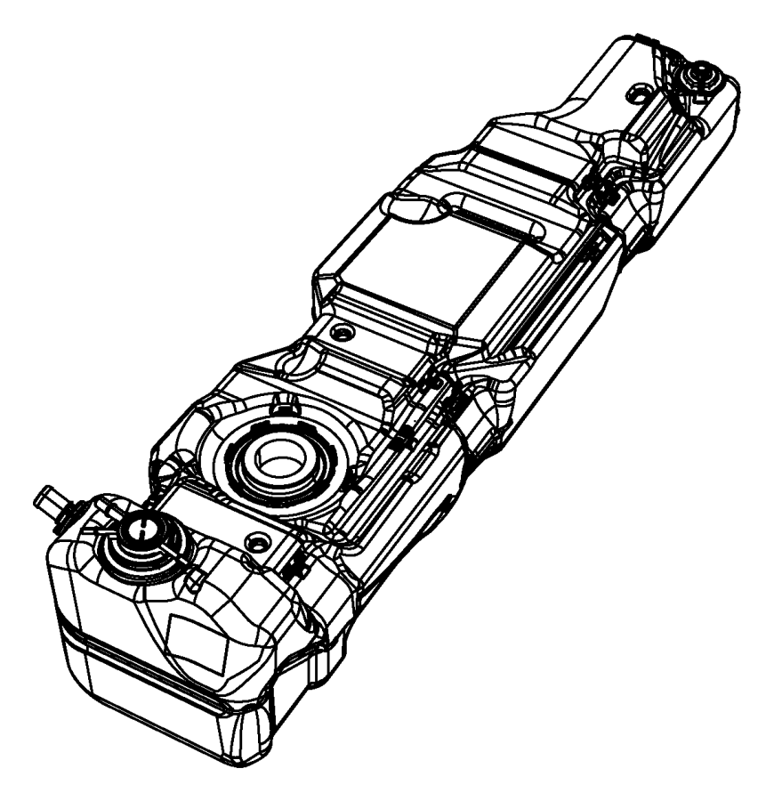 2007 jeep wrangler tank  fuel