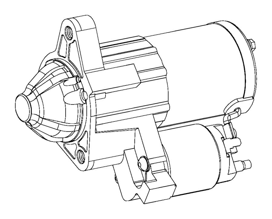 04608801AB Dodge Starter Engine Ezcezd Factory