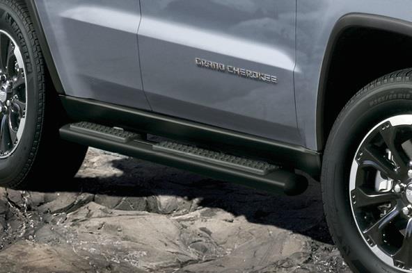 82212130AC     Jeep    Tubular Side Steps  Satin Black painted