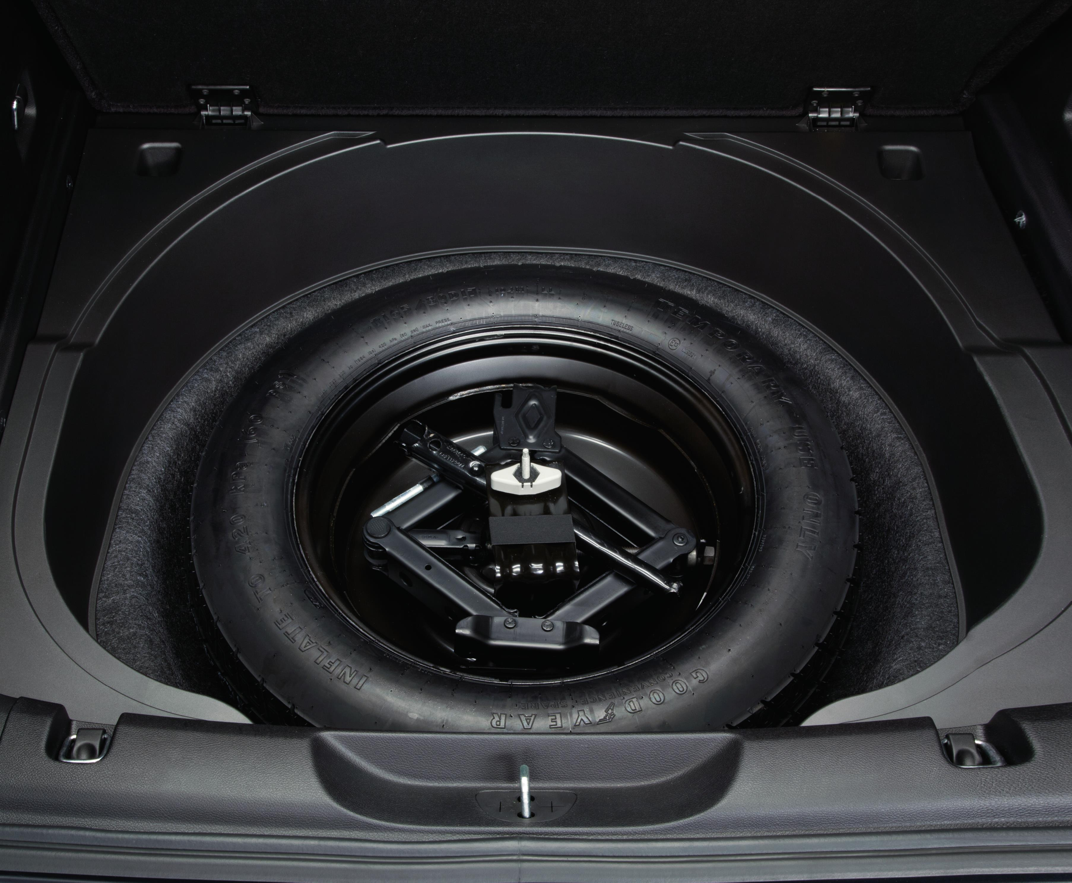 2018 Jeep Compass Spare Tire Kit Includes Compact Spare