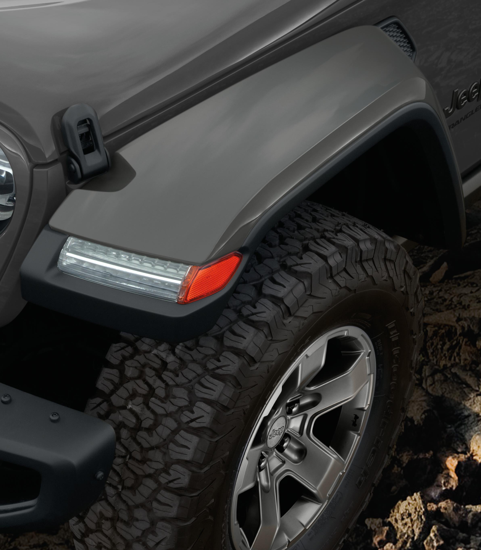 2019 Jeep Wrangler Mldg Kit. Wheel Lip Opening