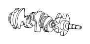 CRANKSHAFT. image for your 2010 Chrysler