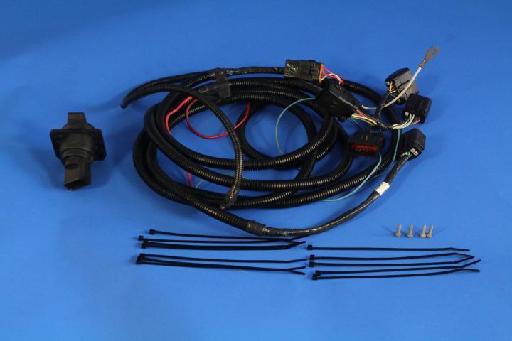 Dodge Dakota Trailer Tow Wire Harness Kit, with 7-way ...
