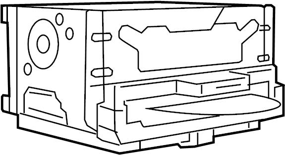 center stack  upper for chrysler 300  2011