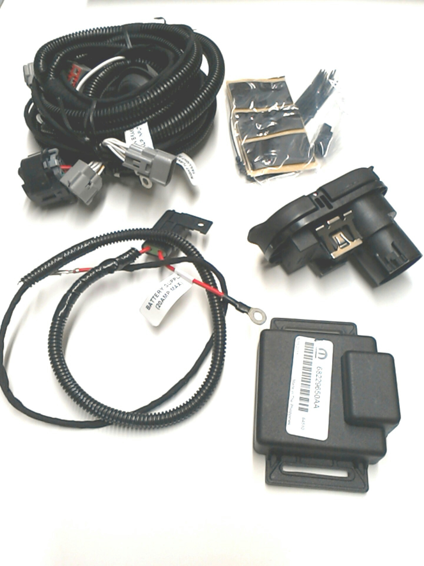 Ac chrysler trailer tow wiring harness
