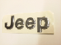 NAMEPLATE. Chromed. Jeep.