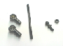 END PACKAGE, Control Rod, (Metal) , NUT, Regular Hexagon, ROD ASSEMBLY, Throttle Control (4 1/2...